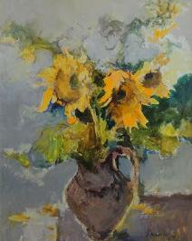 Proč právě  slunečnice, aneb malujte slunečnice